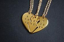 best friends forever set of three best friend necklaces vintage kitsch