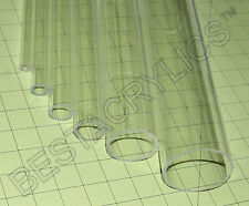 Clear 3 Od X 2 34 Id Diameter 36 Inch Long Acrylic Plexiglass Lucite Tube