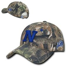NCAA USNA United States Naval Academy Relaxed Hybricam Camouflage Caps Hats