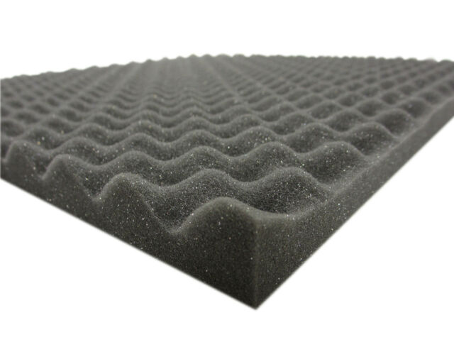 40 Mousse Acoustique Isolation Pyramides 50x50x2