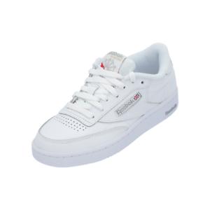 Details zu Reebok Classic CLUB C 85 Damen Herren Sneaker Weiß Turn Schuhe Sport Lauf Schuhe