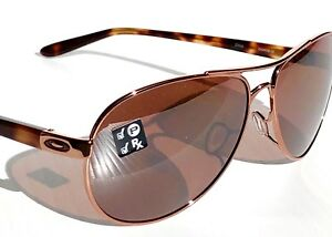 5e0dfb23071 Image is loading NEW-Oakley-Feedback-Rose-Gold-Tort-POLARIZED-AVIATOR-