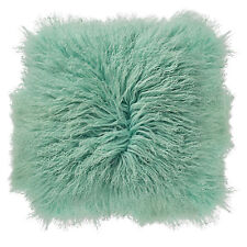 Mongolian Lamb Fur Throw Pillow by Bloomingville