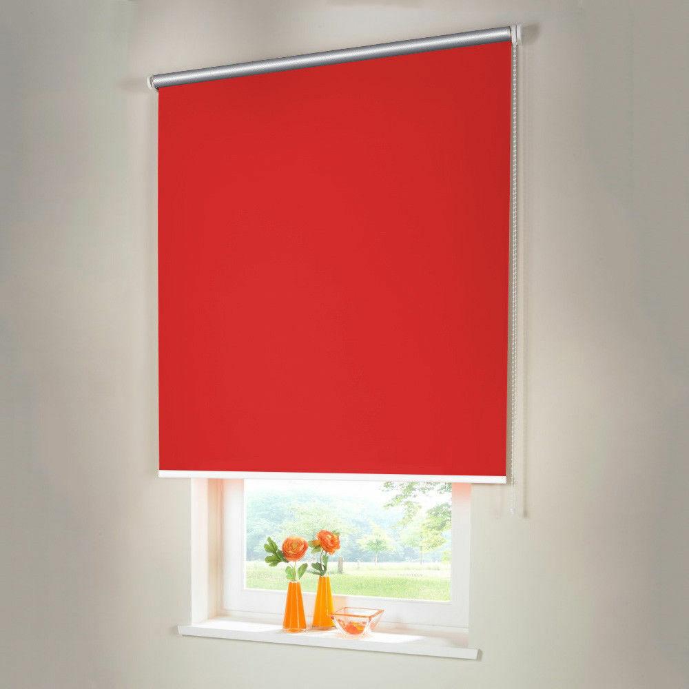 Persiana para oscurecer Thermo seitenzug kettenzug persiana-altura 100 cm rojo