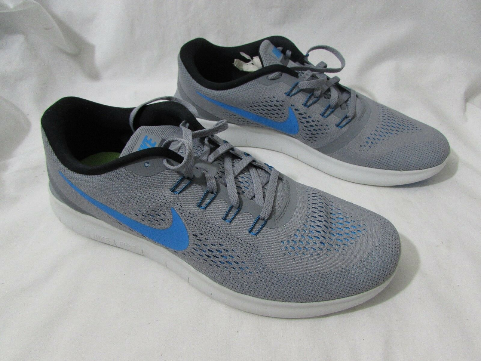 Nike Free Rn Stealth   bluee Men's Running shoes Athletic Sneakers  Size 13 US
