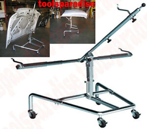 Image is loading AUTO-BODY-SHOP-Painting-Rack-STAND-Panel-Lid-  sc 1 st  eBay & AUTO BODY SHOP Painting Rack STAND Panel Lid Hood Door Paint PARTS ...