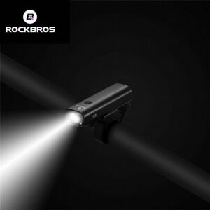 RockBros-Bike-Bicycle-LED-Light-400Lumens-Headlight-Rainproof-USB-Rechargeable