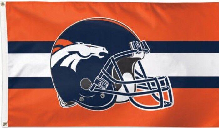 Flagge Hissflagge NFL Denver Broncos Broncos Broncos Helmet 90 x 150 cm Fahne d207be