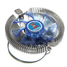 Quiet Blue LED CPU Cooler Fan Heatsink for Intel LGA775 1155/1156 i3/i5/i7 AM2 A