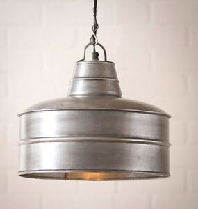 Bakers Pendant Light Country Primitive