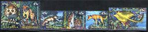 Australia-1997-Creatures-of-the-Night-MUH-Set-of-6-stamps