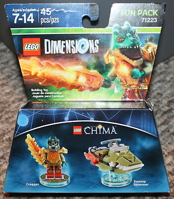 NEW Factory Sealed Lego Dimensions Chima Cragger  Fun Pack 71223