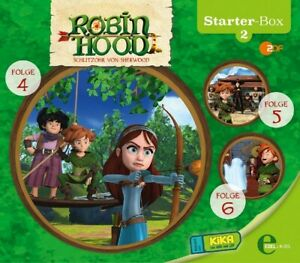ROBIN-HOOD-SCHLITZOHR-VON-SHERWOOD-2-STARTER-BOX-3-CD-NEW