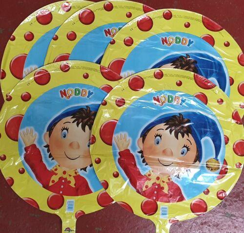 Mega lot 5 Noddy Hélium Ballons En Gros Job Lot clearance