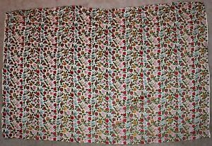 34 X54 Vintage Small Floral Cut Velvet Victorian Upholstery Fabric