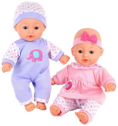 Chad Valley bambini all/'amore parlando TWIN dolls bambola Baby Set Gioco Giocattolo Regalo Ragazze