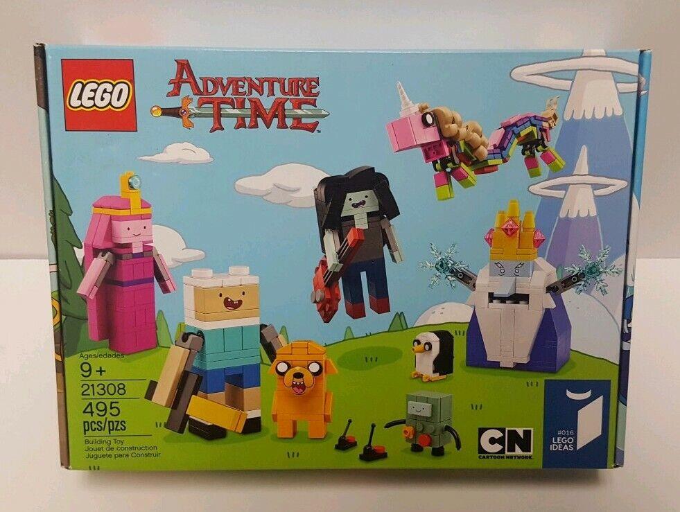 Lego Ideas 21308 Adventure Time BRAND NEW SEALED 495 pcs Cartoon Network Finn