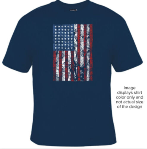 Big and Tall American Flag T-Shirt