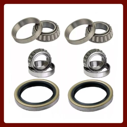 FRONT WHEEL BEARING /& SEAL FOR TOYOTA T100 2WD RWD 1993-98 LEFT /& RIGHT PAIR