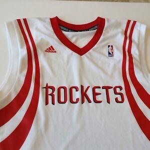 Adidas Houston Rockets NBA Men s White Blank Replica Jersey Medium ... 26ef0a186