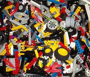 LEGO 100 pièces technic lochbalken pins Lifter roues montées croix tiges top  </span>