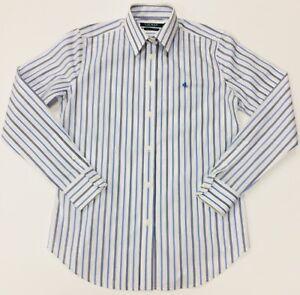 RALPH-LAUREN-LAUREN-coton-non-fer-femme-chemise-rayee