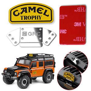 CAMEL Trophy Metal Logo Aufkleber Für Land Rover Defender Traxxas TRX4 D90 RC4WD