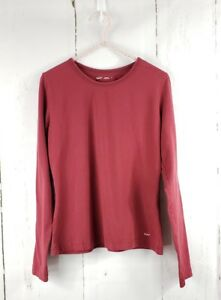 eae0fa5ad4d Woolrich Women s 7003 Laureldale Long Sleeve T-Shirt Stretch Cotton ...