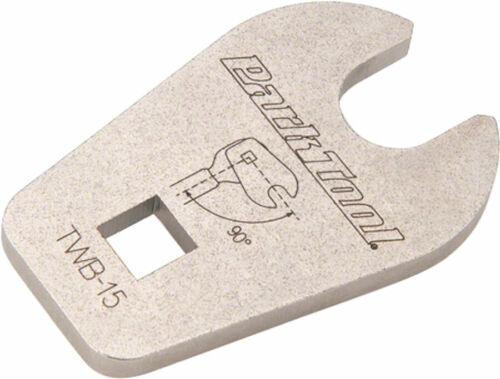 """Park Tool TWB-15 15 mm Crowfoot Pédale Adaptateur 3//8/"""""""