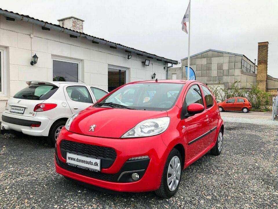 Peugeot 107 1,0 Champion Benzin modelår 2013 km 148000