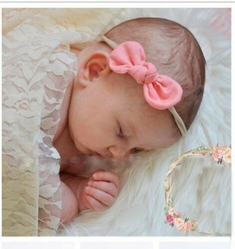 Baby Kids Headband Set Combination Hair Bands Newborn Floral Bow Various Colours