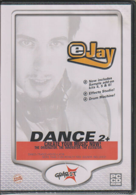 5 /& 6  3500 samples sample add-on kits 4 New /& Sealed PC CD Rom eJay Dance 2