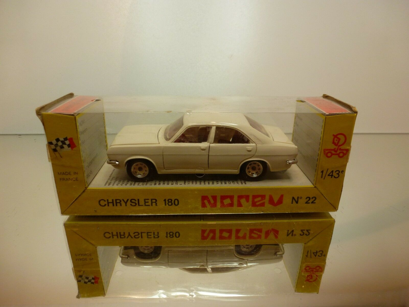 NOREV 22 CHRYSLER 180 - OFF-blanc 1 43 - GOOD CONDITION IN BOX