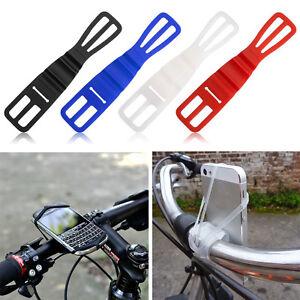 universal silikon fahrrad halterung bike lenker handy. Black Bedroom Furniture Sets. Home Design Ideas