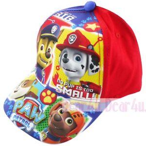 6375aaee157 Image is loading PAW-PATROLS-MARSHALL-boys-Kids-toddler-baseball-cap-