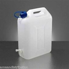 WATER STORAGE CONTAINERS 10L LTR LITRE CARRIER TAP SPOUT FOOD GRADE JERRY CAN