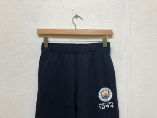Manchester City FC Official Kid/'s Club Logo Pants 10-11 Years Navy New