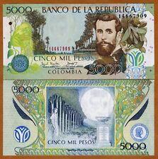 Colombia, 5000 (5,000) Pesos, 2003, Pick 452 (452d), UNC