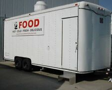 **Mobile Kitchen Building Code Compliant Commercial Bakery Catering Food Trailer