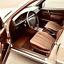$$$ Lengenfelder Rips Fußmatten für Mercedes Benz W201 190 NEU BRASIL BRAUN