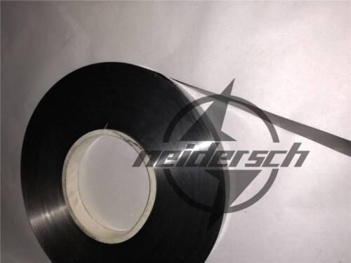 1PCS 65Mn High Carbon Spring Steel Plate Strip 0.1mmx115mmx1000mm New