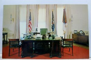 Washington-DC-White-House-President-039-s-Office-Postcard-Old-Vintage-Card-View-Post