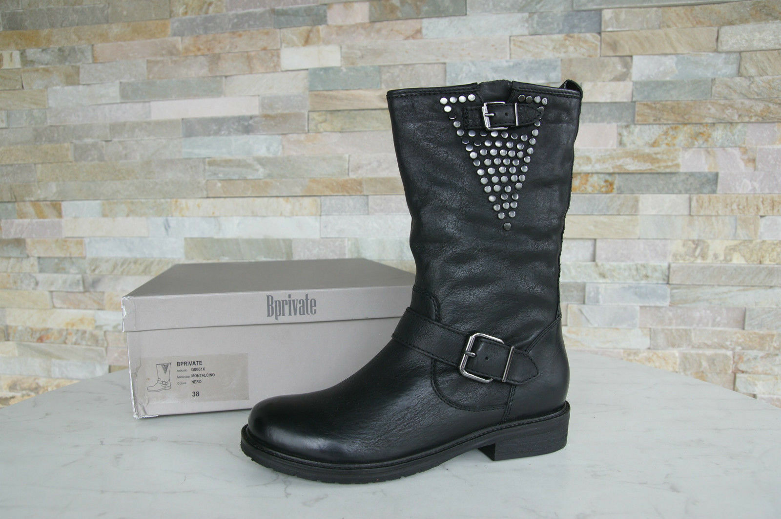 Bprivate 38 Boots Ankle Boots Boots shoes Vintage New Previously