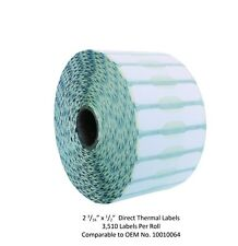 2 316 X 12 Jewelry Barbell Labels 1 Roll Zebra Compatible 10010064