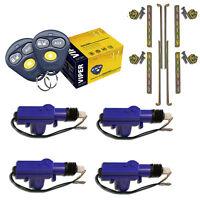 Viper 3100v Keyless Entry Car Alarm System + (4) Universal Door Lock Actuator