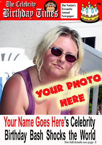 Spoof celebrity newspaper cover photo bespoke personalised happy image is loading spoof celebrity newspaper cover photo bespoke personalised happy bookmarktalkfo Choice Image