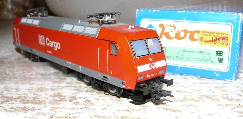 P11  Roco 69560 E Lok BR 145 007-1 DB Cargo A c Wechselstrom digital  | Hohe Qualität und Wirtschaftlichkeit