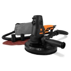 Handheld-Drywall-Sander-10-Amp-Corded-8-5-in-Variable-Speed-Sandpaper-Bag