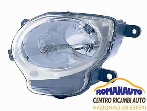 *FARO Inferiore SINISTRO H1 FIAT 500 2007> Antinebbia Luce Posizione Proiettore