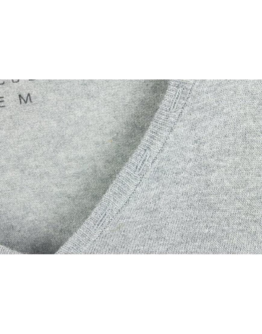 Eleven Paris homme vêteHommes ts ts ts en tricot basique Pull V tunisien gris (eptp001) dc2eda